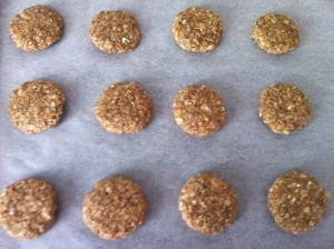 Приготовление овсяного печенья1