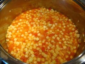 Тушим овощи до испарения почти всей жидкости
